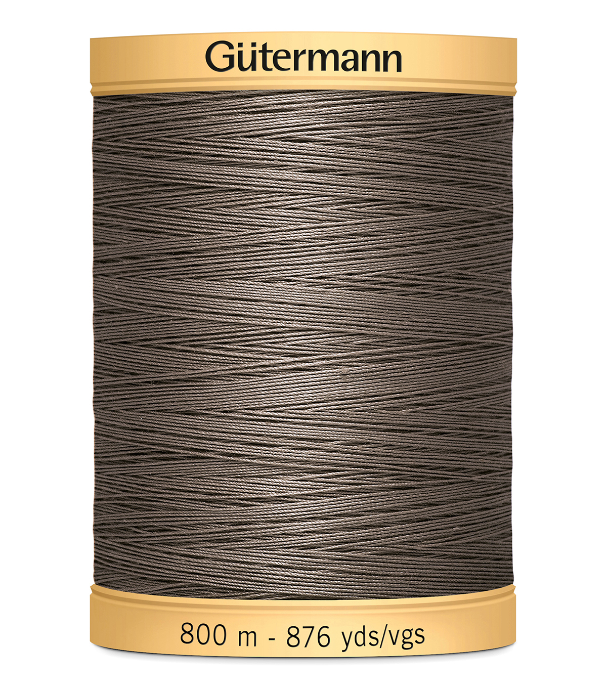 Gutermann Natural Cotton Thread Solids 876 yd, Taupe