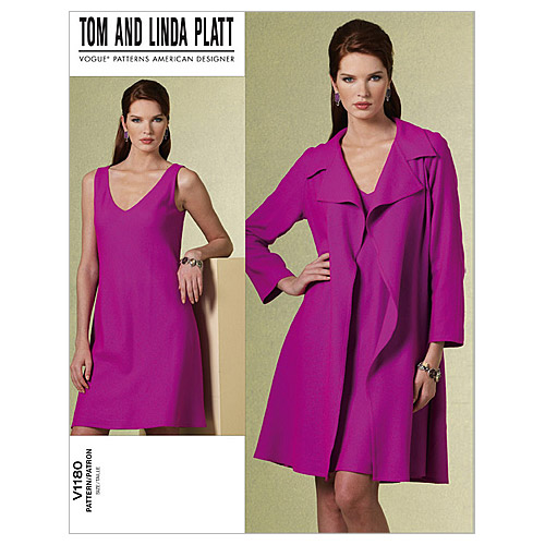 Mccall Pattern V1180 Aa (6-8-10-Vogue Pattern