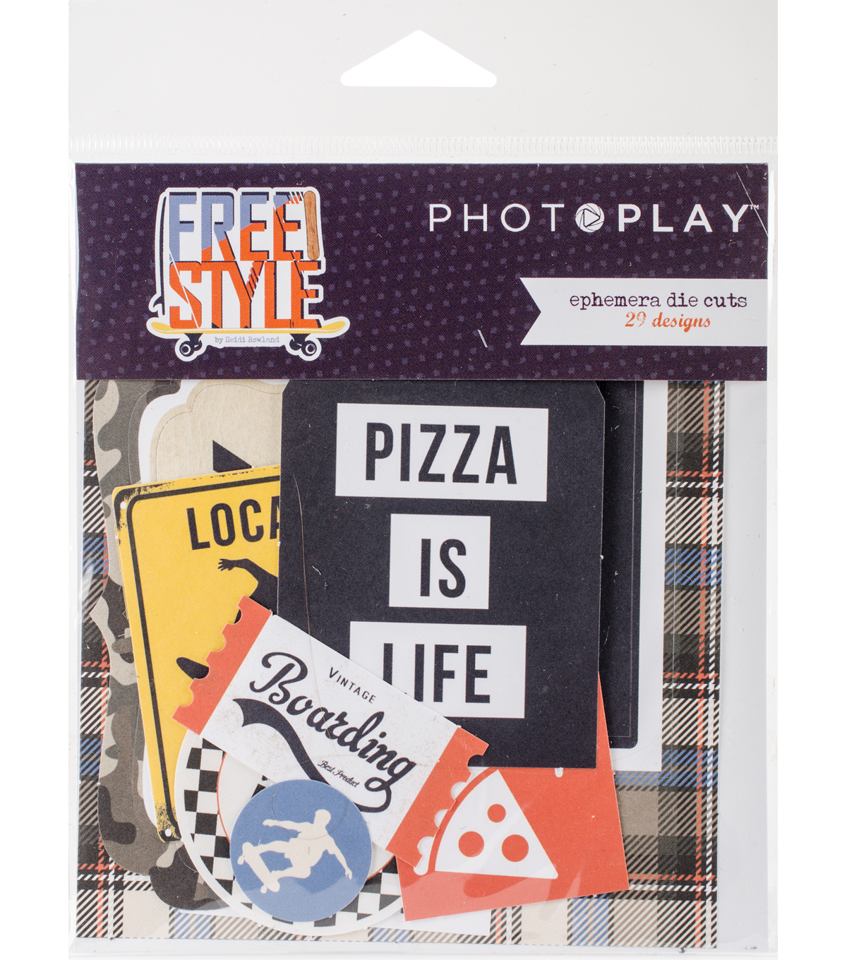 Photo Play Paper Ephemera Cardstock Die-Cuts-Freestyle