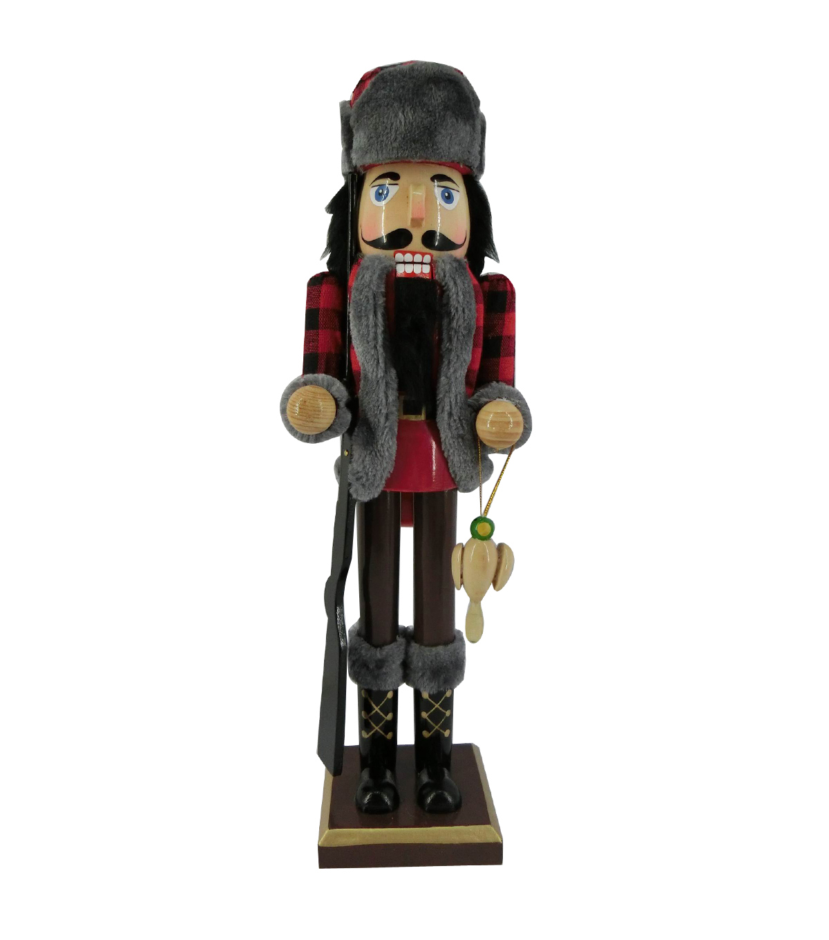 Maker\u0027s Holiday Christmas 15\u0027\u0027 Hunter Nutcracker