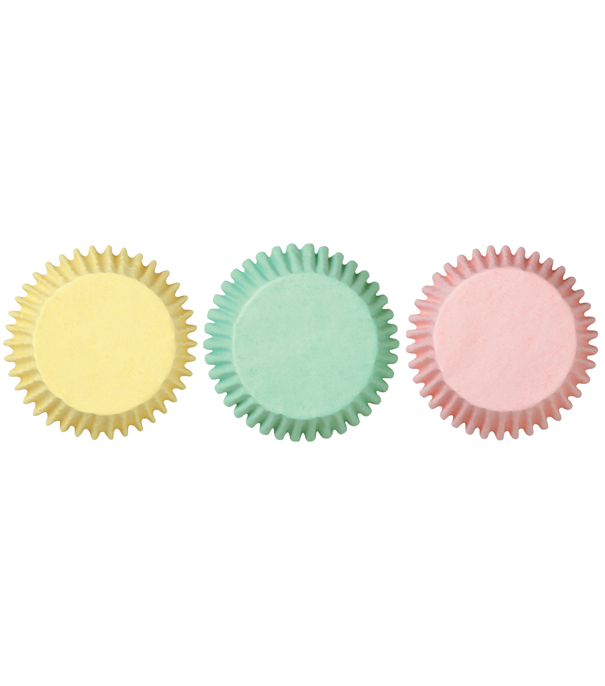 Wilton Mini Baking Cups-100PK/Pastels