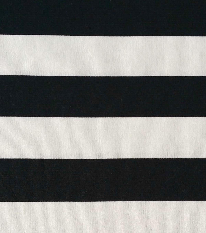 Rb2 Stripe Knit Black White