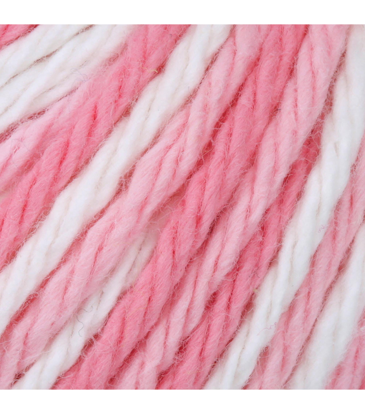 Lily Sugar\u0027n Cream Super Size Yarn, Strawberry