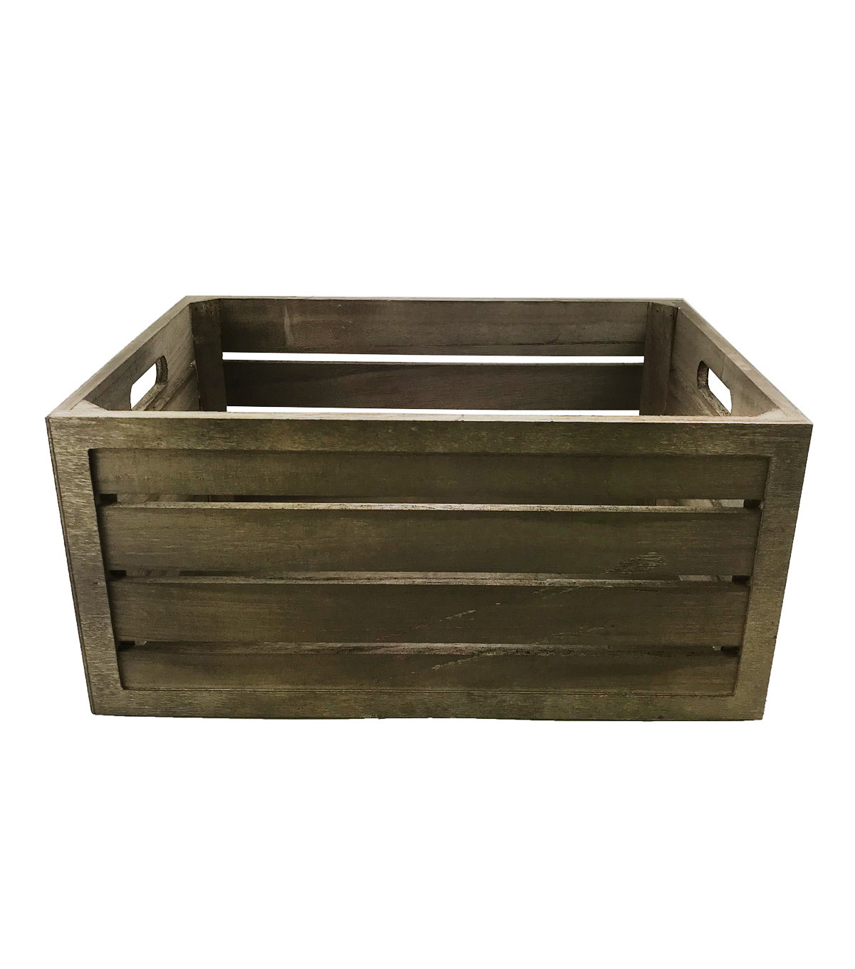 Rustic Handle Crate-Large