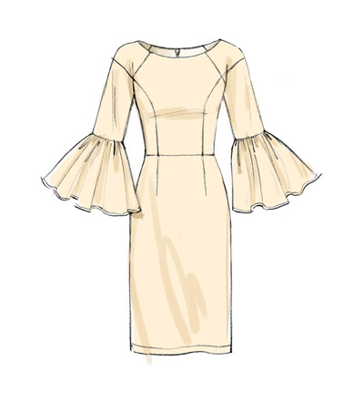 Vogue Pattern V40 Misses' Princess Seam DressesSize 40404040 Delectable Princess Seam Dress Pattern