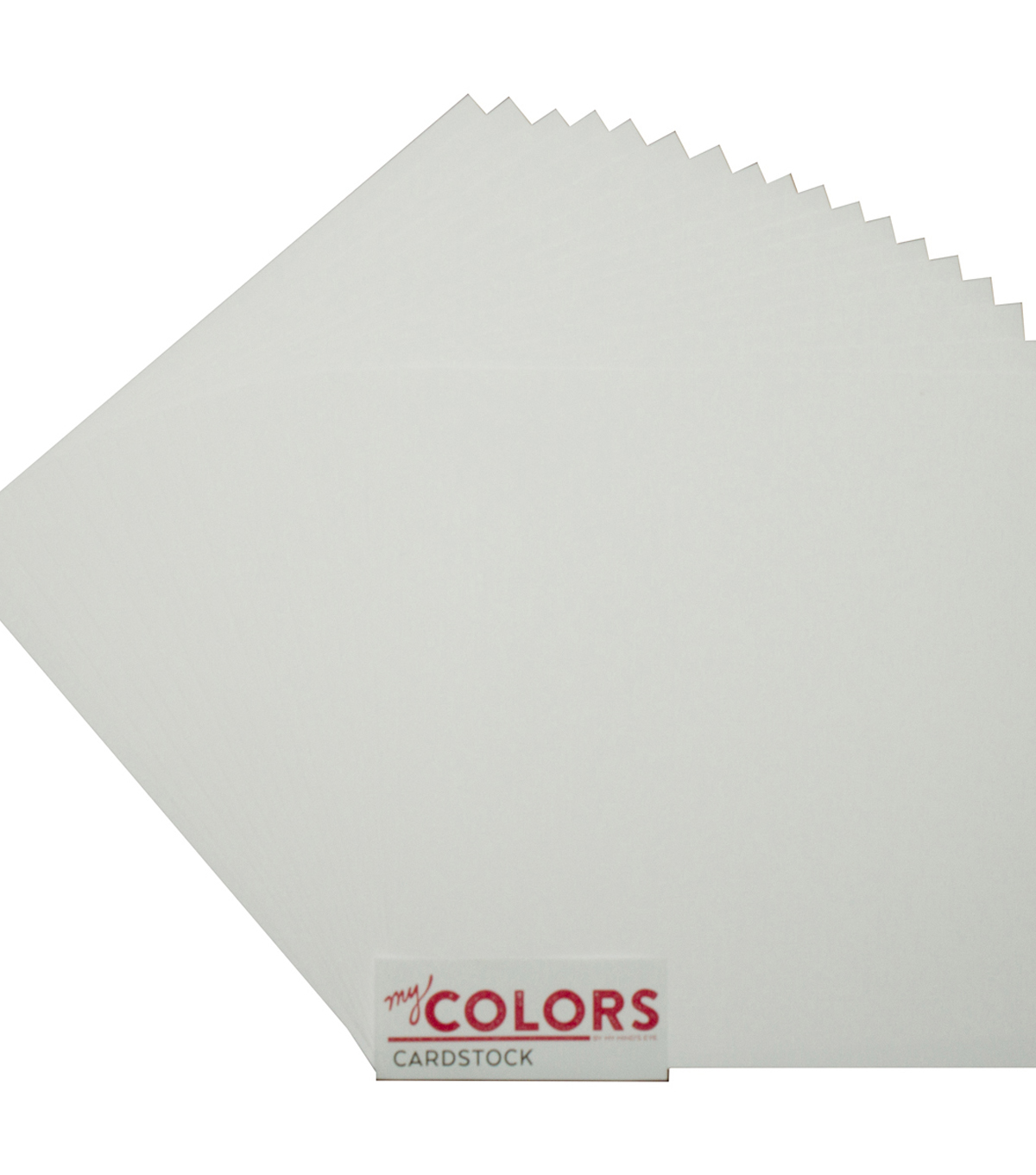 My Colors Canvas Cardstock Bundle 12\u0022X12\u0022-Snowbound