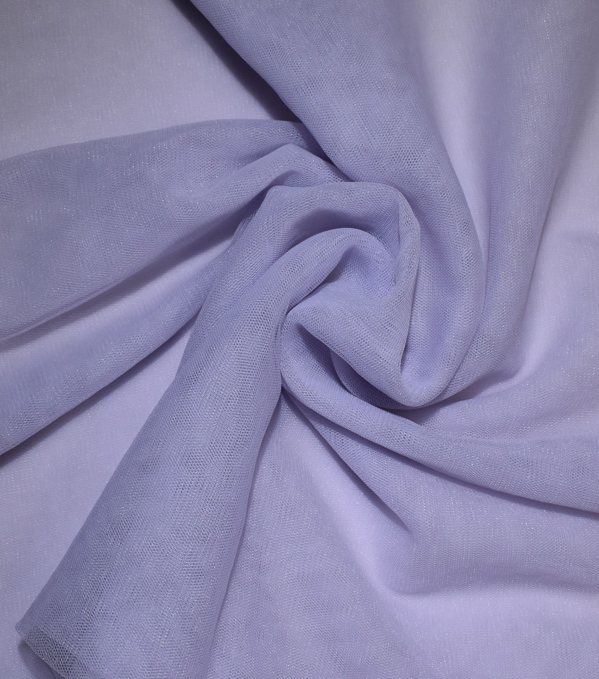 Casa Collection Solid Tulle Fabric 57\u0027\u0027, Lavender Blue