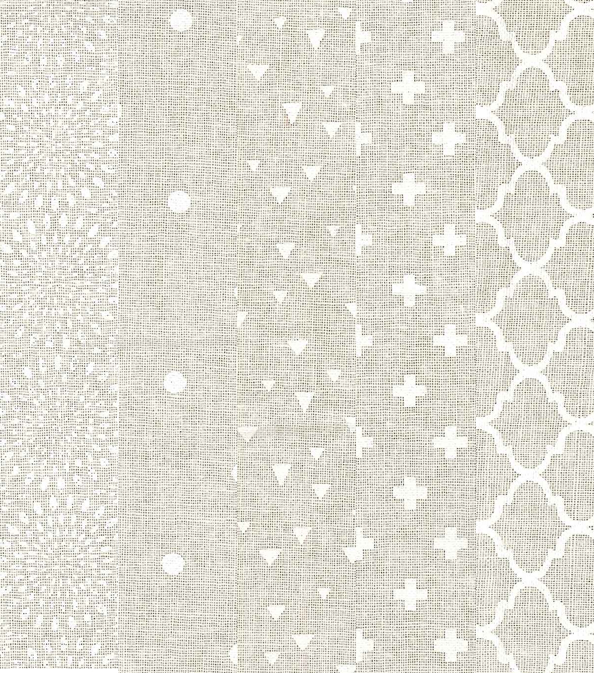 Layer Cake Cotton Fabric Pack 10\u0027\u0027x10\u0027\u0027-Cream