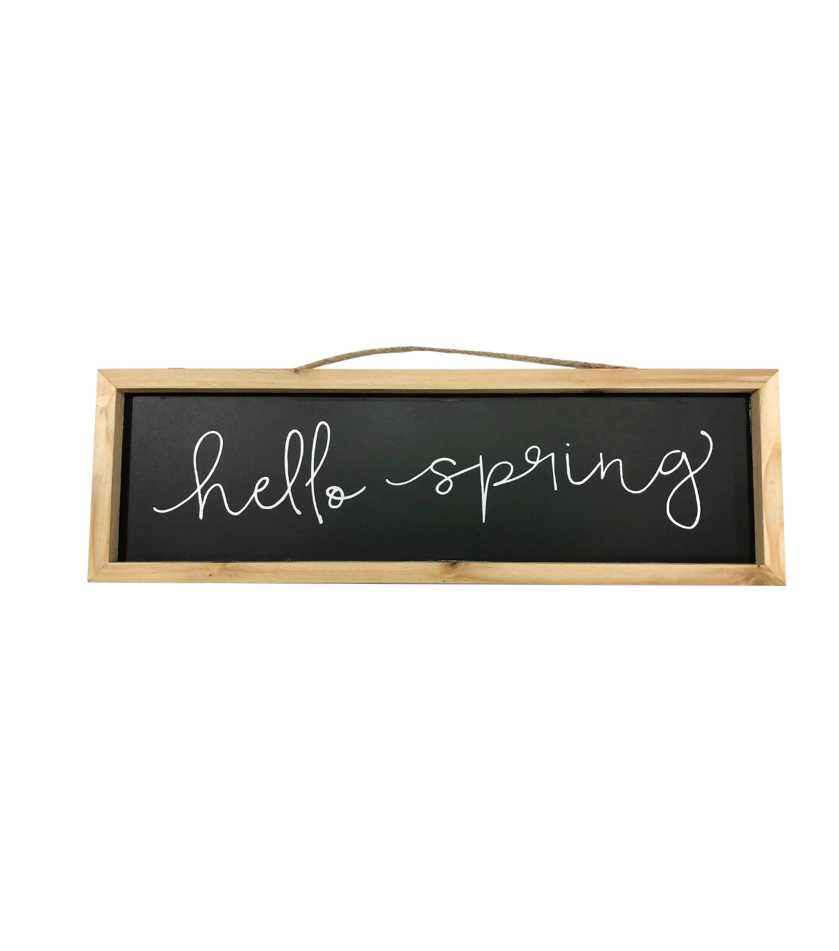 Simply Spring Chalkboard Wall Decor-Hello Spring