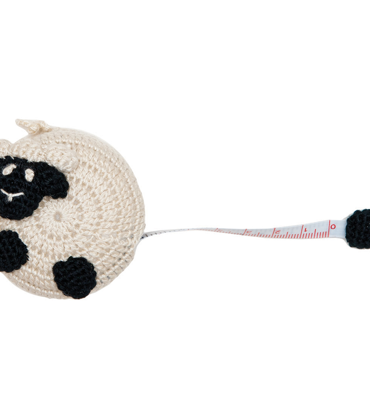Paradise Exotic Crocheted Sheep Tape Measure