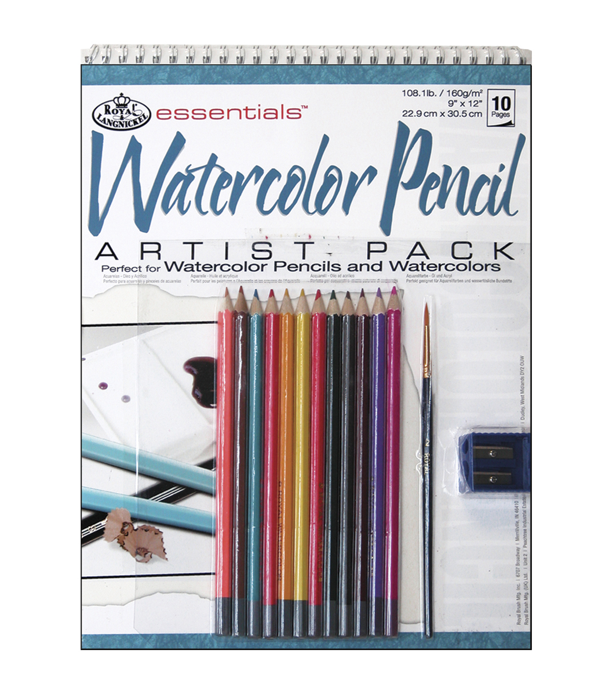Royal Brush Essentials Artist Pack-Watercolor Pencil