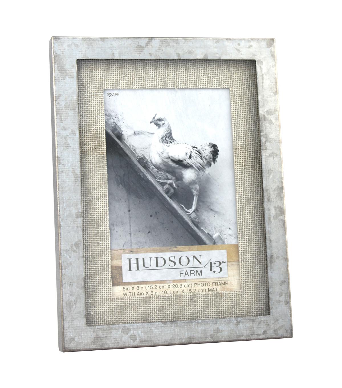 Hudson 43 Farm 4\'\'x6\'\' Galvanized Metal Frame | JOANN