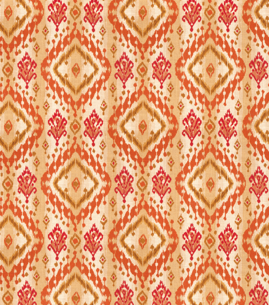Ikat Paisley Canyon Swatch
