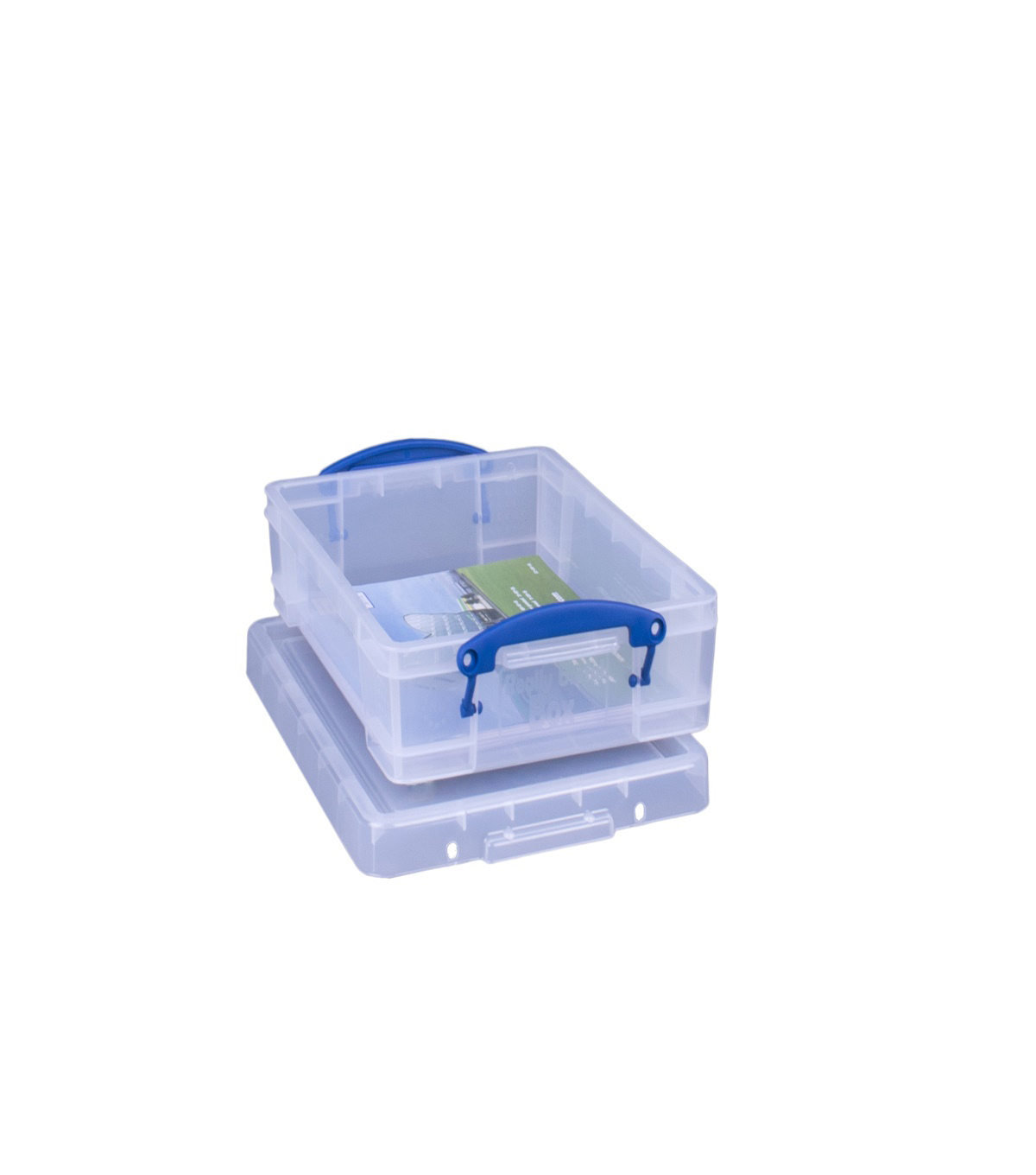 Really Useful Box 135.25 fl. oz. Storage Box-Clear