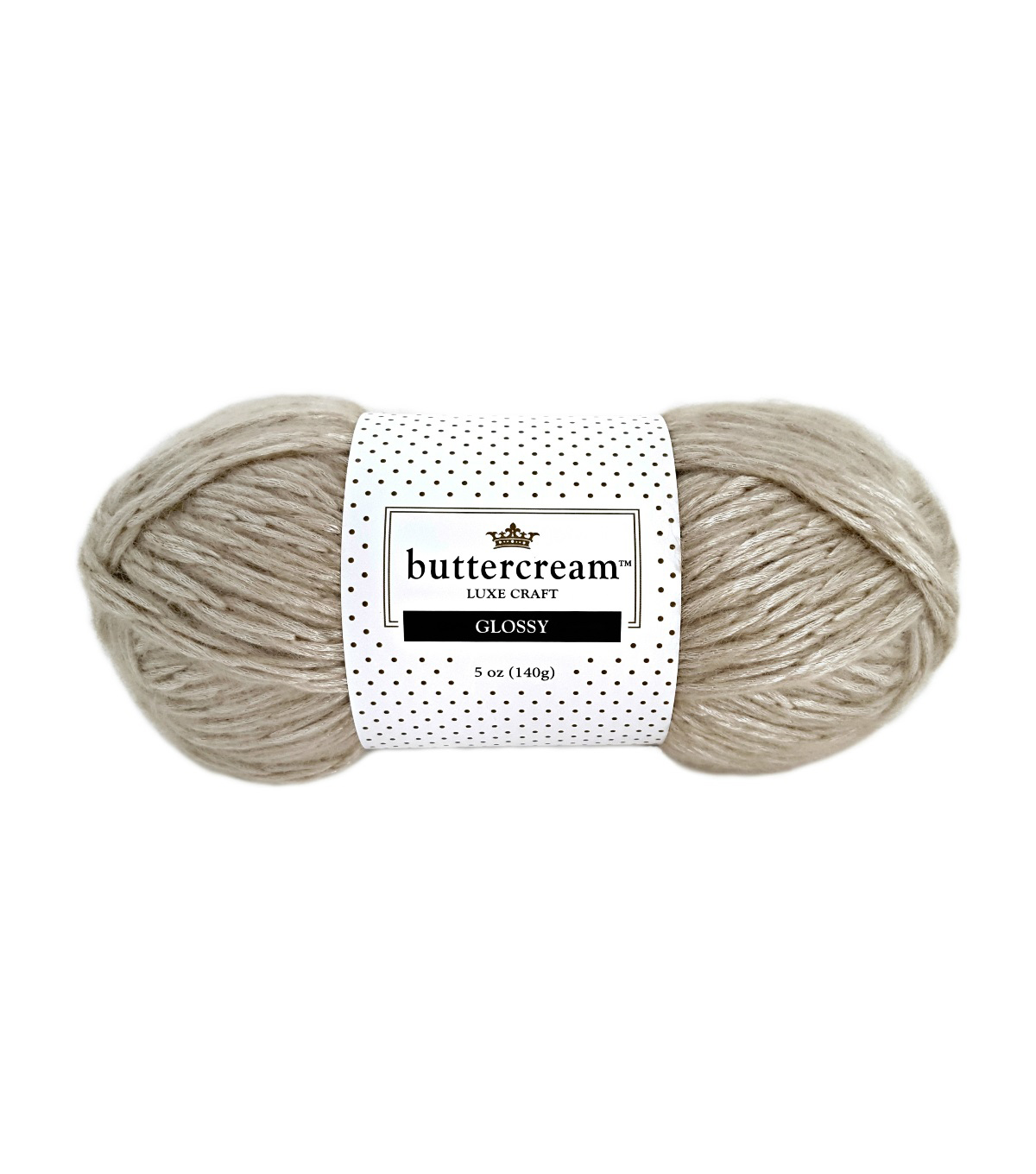 Buttercream Luxe Craft Glossy Yarn