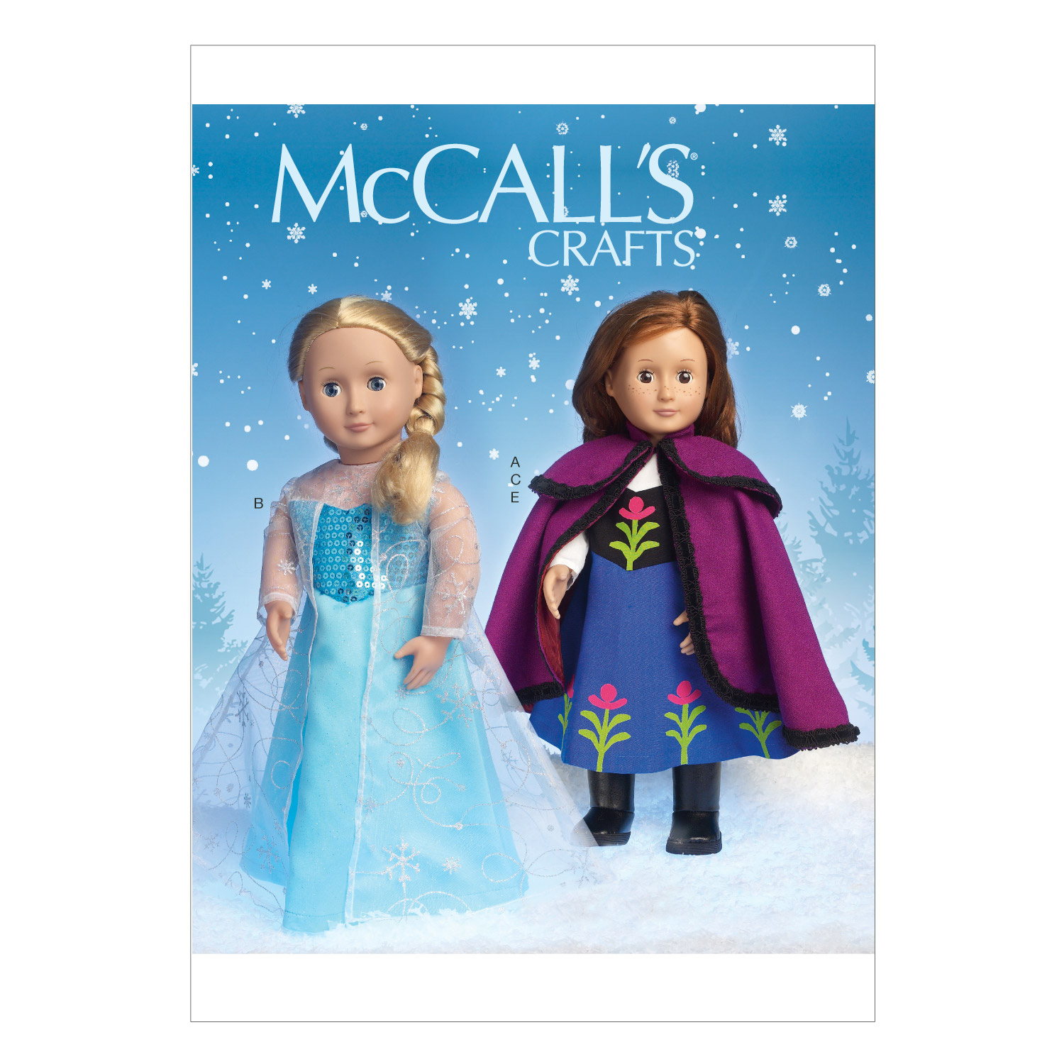 McCall\u0027s Crafts Doll Clothes-M7065