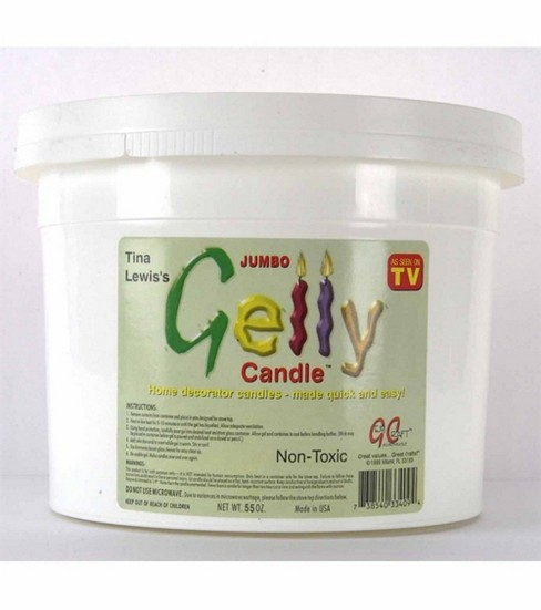 Gelly Candle Wax-55 oz./Clear