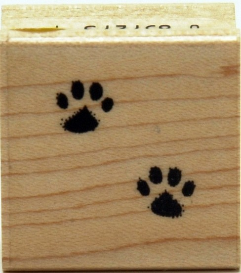 Hero Arts Cat\u0027s Paw Small Stamp