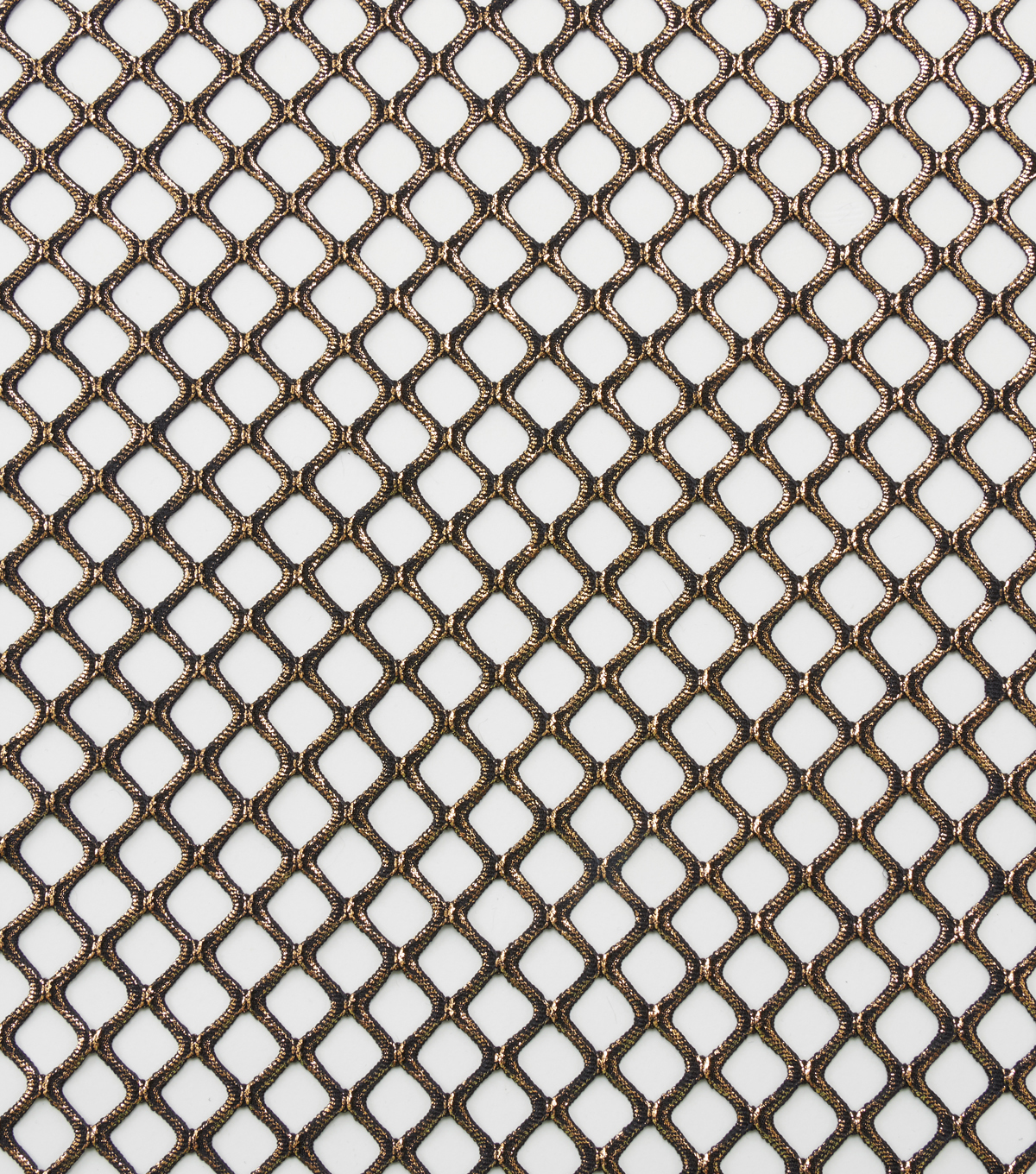 Cosplay By Yaya Han Metallic Netting Fabric 56\u0022-Copper