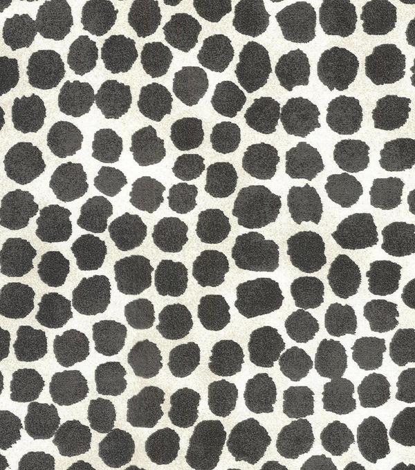 Genevieve Gorder Multi-Purpose Decor Fabric 54\u0027\u0027-Onyx Puffy Dotty