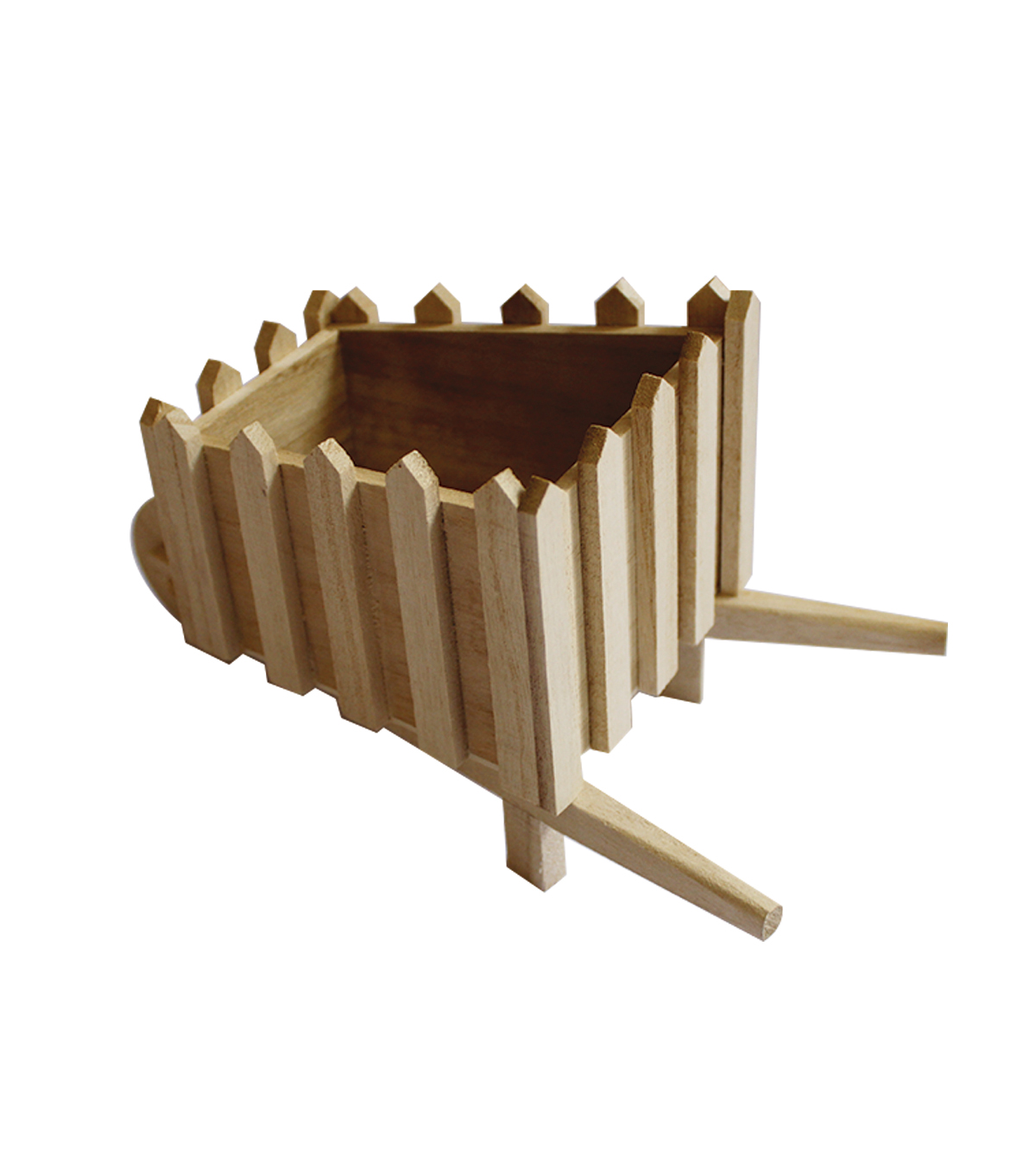 Paulownia Wood Furniture 3D Wheelbarrow