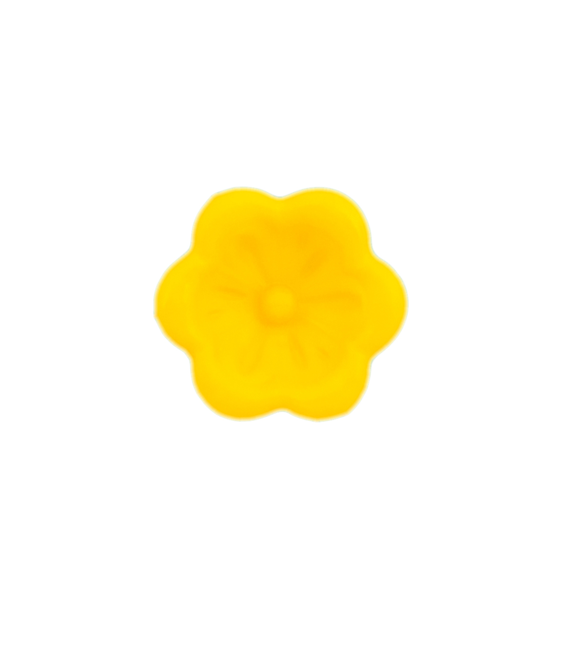 Spectrum Warm 3 pk 0.63\u0027\u0027 Flower Buttons-Yellow