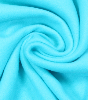 Blizzard Fleece Fabric -Solids, Scuba Blue
