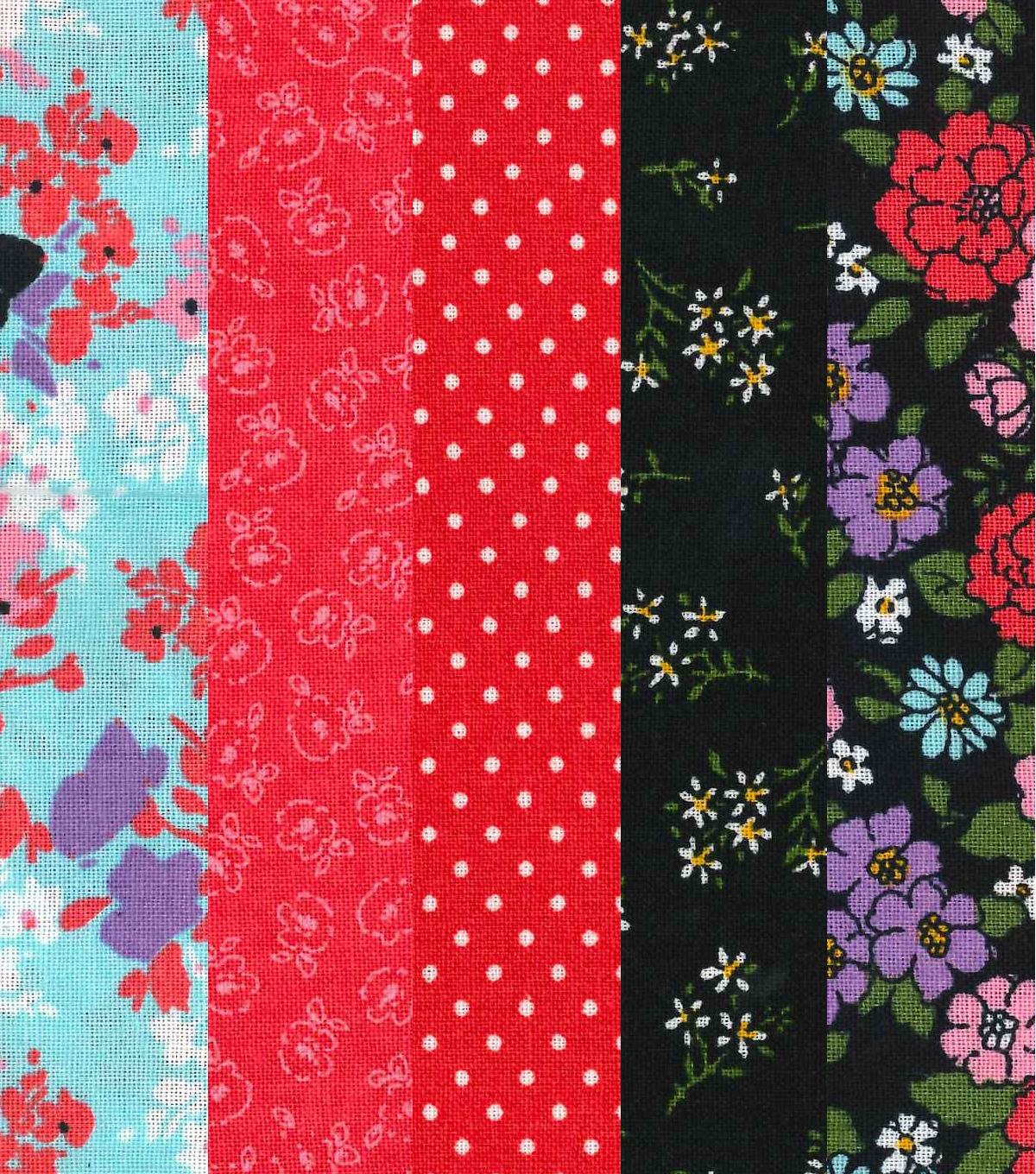 Fat Quarter Bundle Cotton Fabric 18\u0027\u0027-Paisley