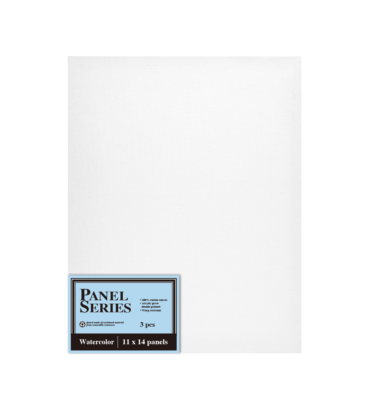Watercolor 3 pk 11\u0027\u0027x14\u0027\u0027 Canvas Panels