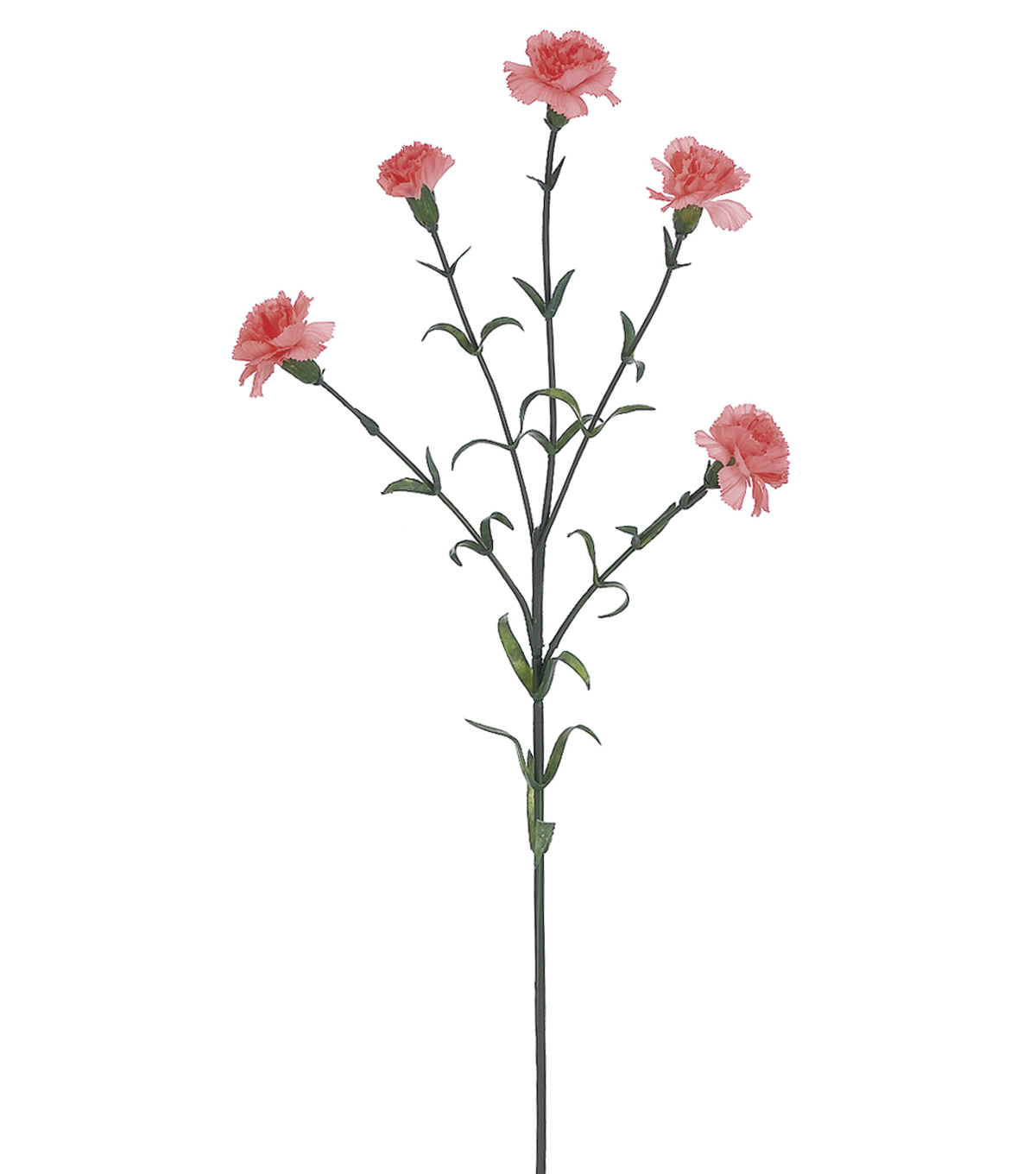 Bloom Room 28\u0027\u0027 Mini Carnation Spray-Coral