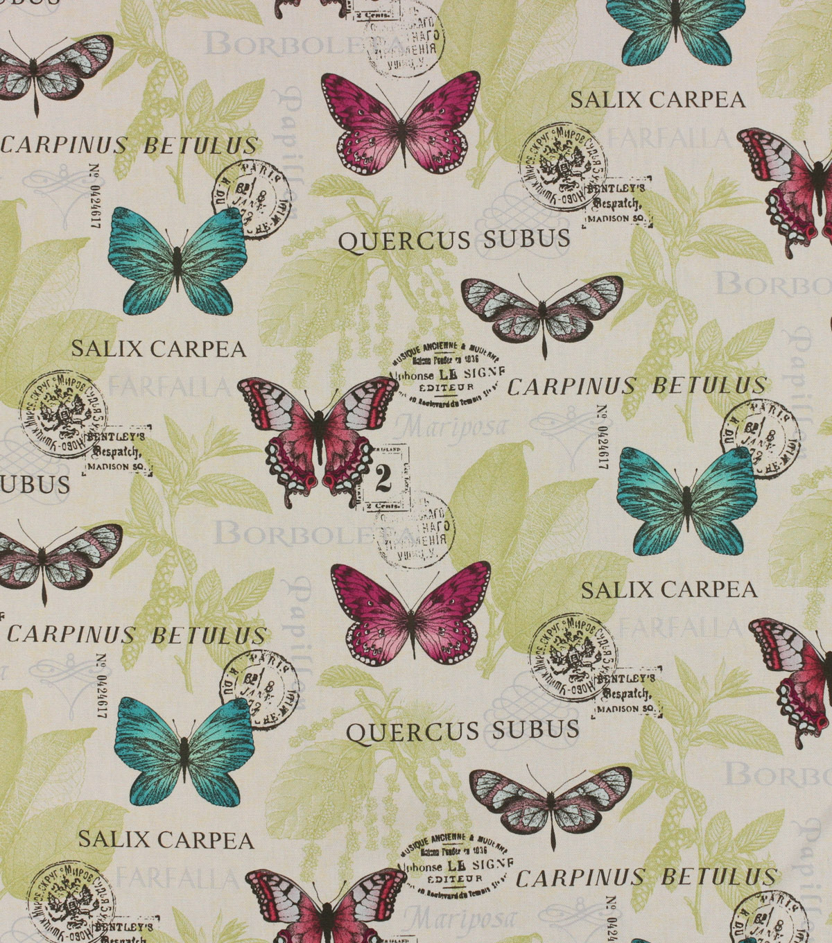 Home Essentials Lightweight Decor Fabric 45\u0027\u0027-Barboleta Orchid
