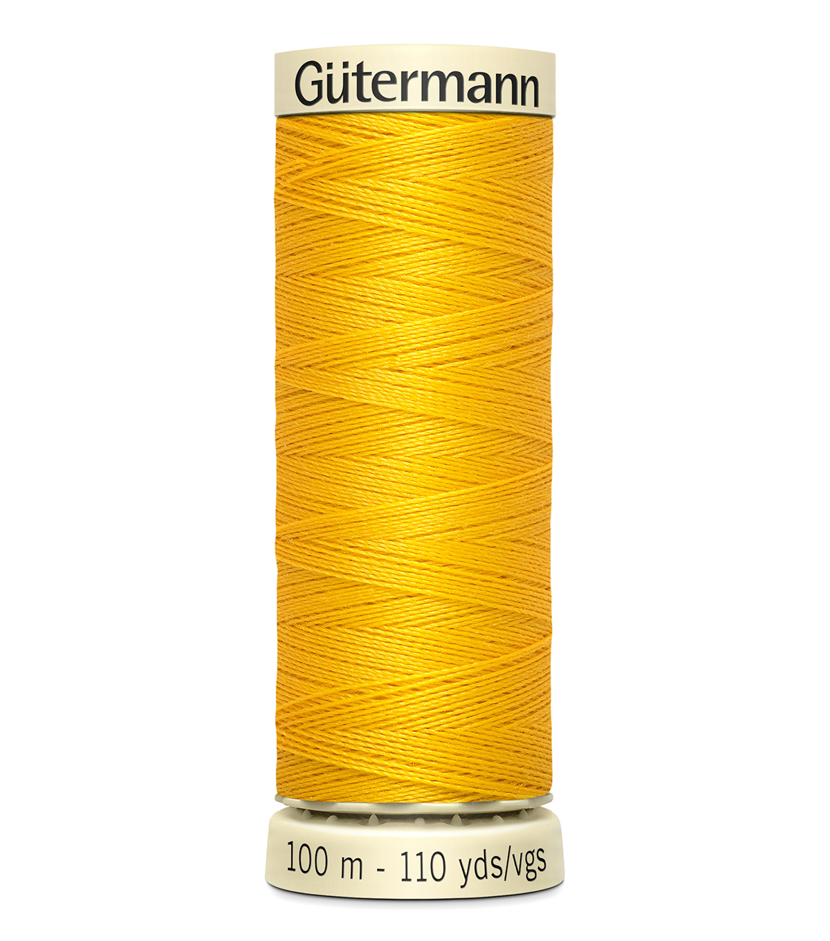 Gutermann Sew All Polyester Thread 110 Yards-Oranges & Yellows , Goldenrod #850