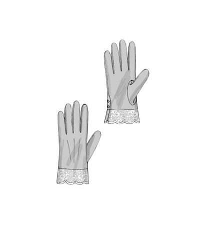 Butterick Pattern B6398 Misses\u0027 Gloves in Six Styles
