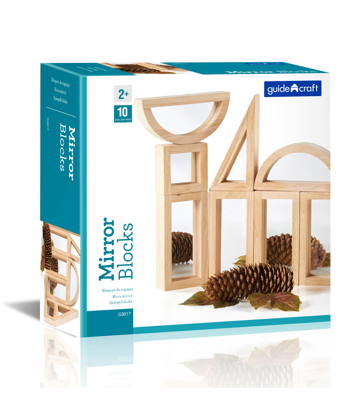 Mirror Blocks, 10 Piece Set