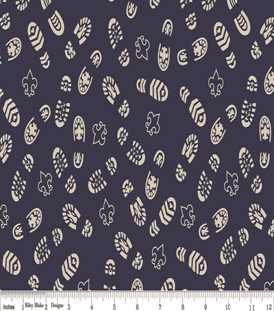 Boy Scout Flannel Fabric 43\u0022-Boots