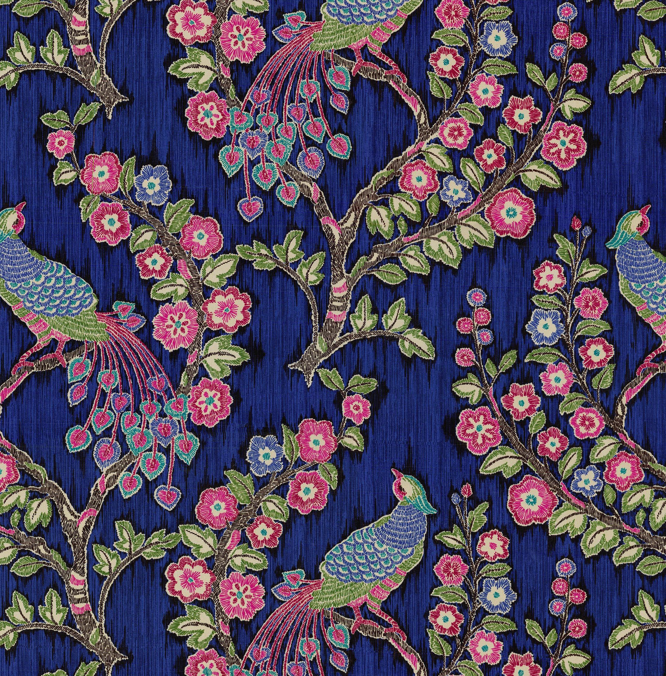 Iman Home Print Fabric 54 U0022 Magic Garden Jewel