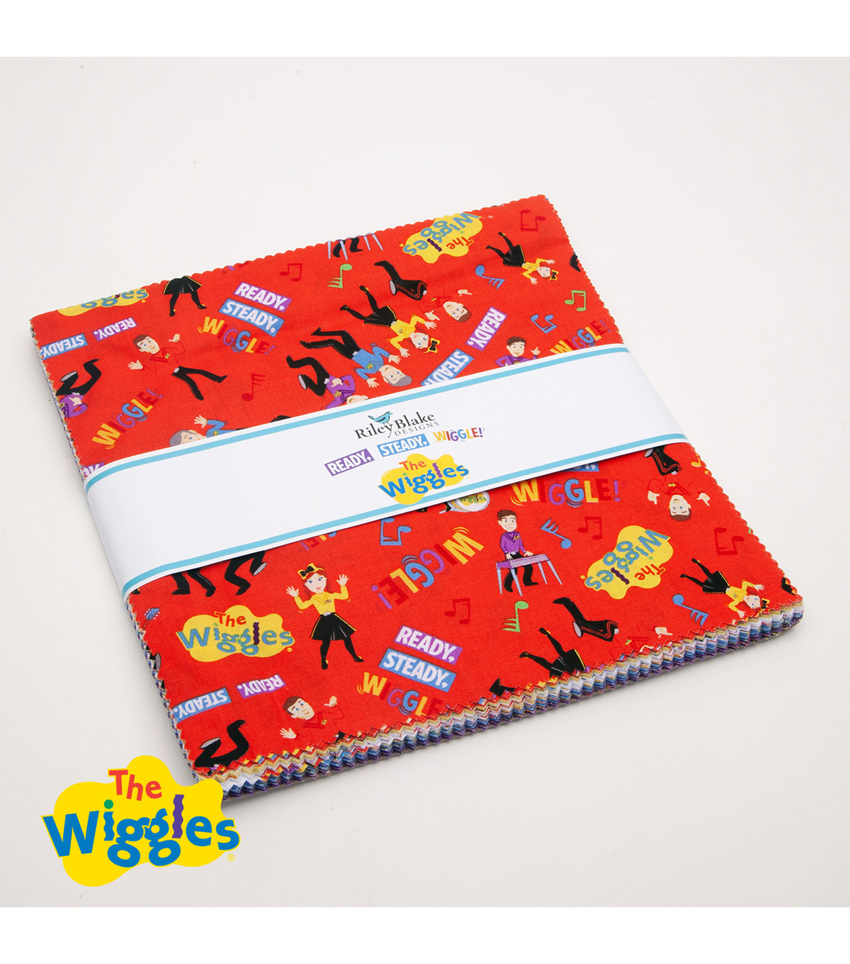 The Wiggles 10 Stackers by Riley Blake