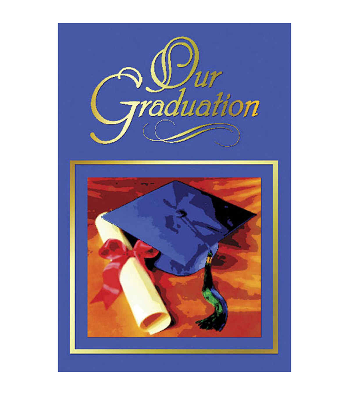 Hayes Our Graduation Program Cover, 30 Per Pack, 6 Packs