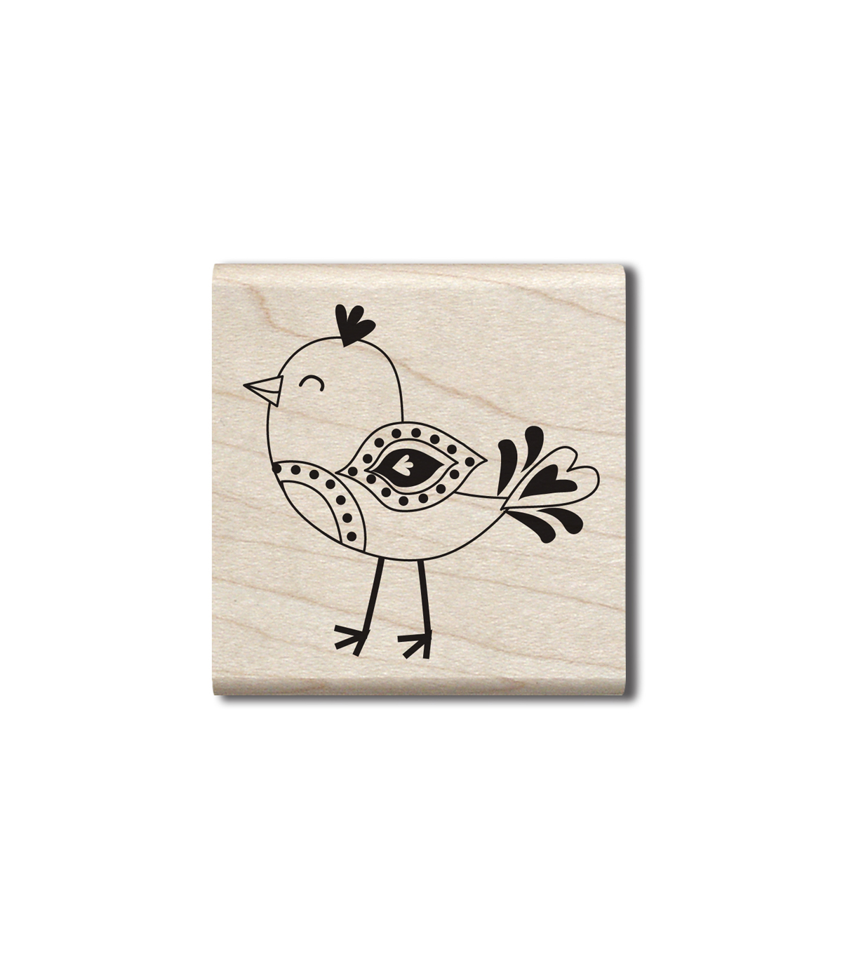 Hampton Art Wood Stamp-Chick