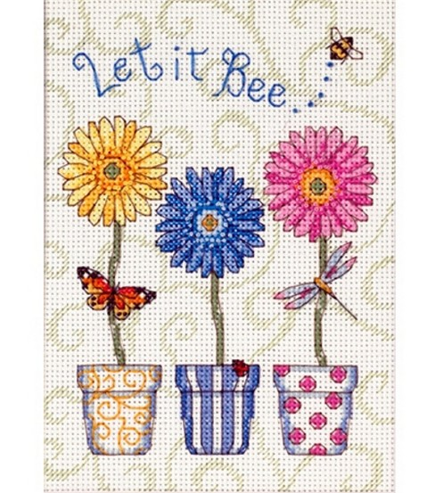 Dimensions Let It Bee...Counted  X-Stitch Kit