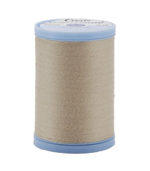 Coats & Clark Cotton Covered Quilting & Piecing Thread 250 Yards , 8050 Buff