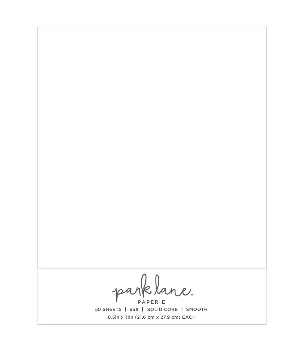 Park Lane 50 pk 8.5\u0027\u0027x11\u0027\u0027 Value Papers-White