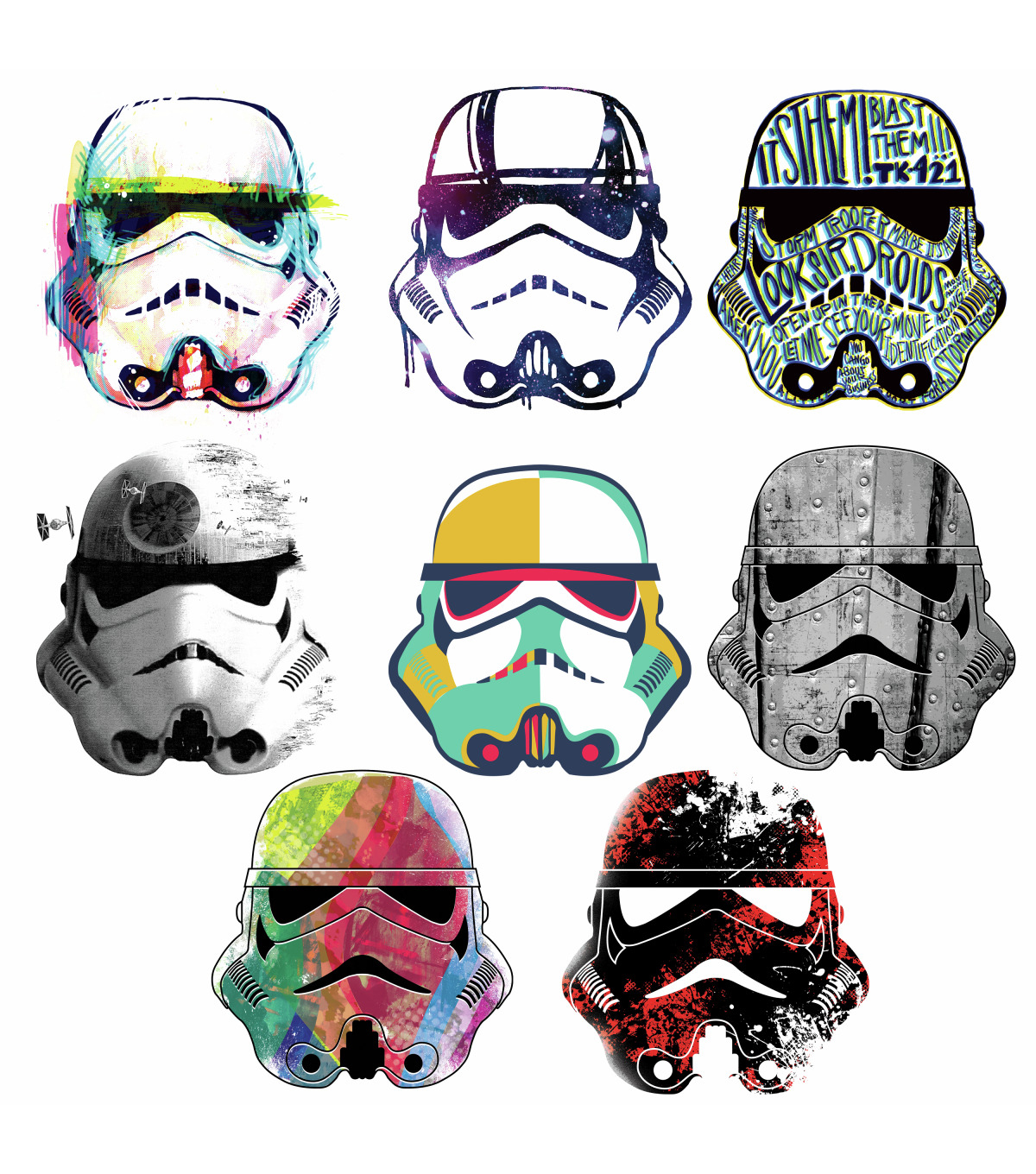 York Wallcoverings Wall Decals-Star Wars Storm Trooper