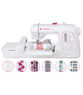 Singer Xl-580 Futura Embroidery Machine