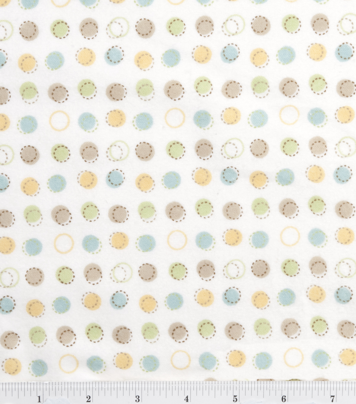 Nursery Flannel Fabric Oh Baby Sch Dot