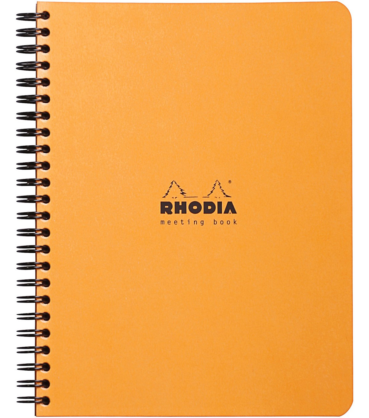 Rhodia Meeting Book 6\u0022X8\u0022-Orange