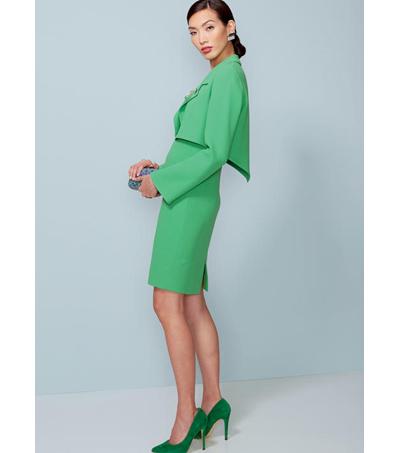 Vogue Pattern V1536 Missesmisses Petite Jacket Dress Size 14 22