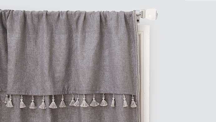 Sew Curtains With Trim, , hi-res