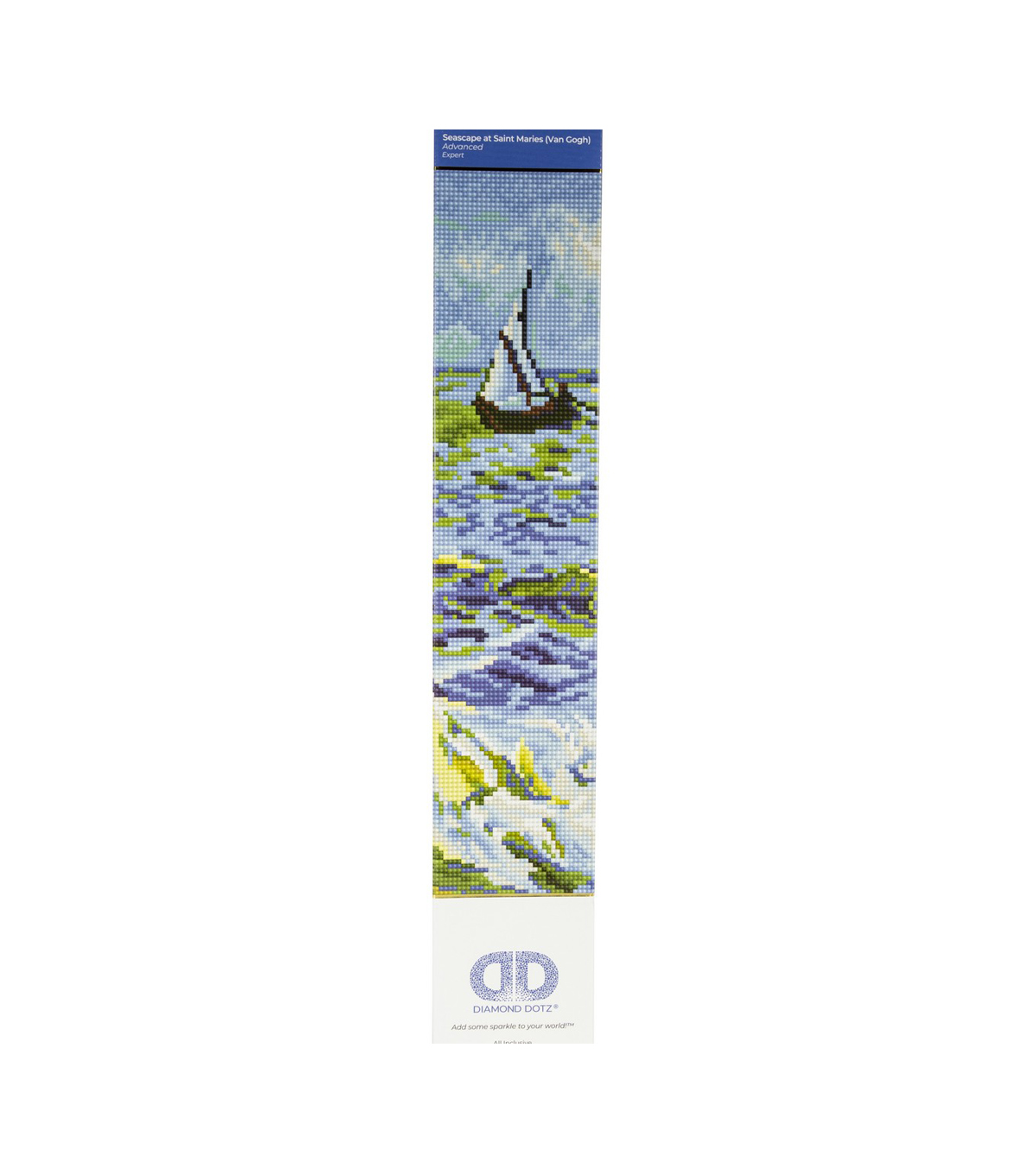 Diamond Dotz Diamond Facet Art Kit-Seascape at Saint Maries
