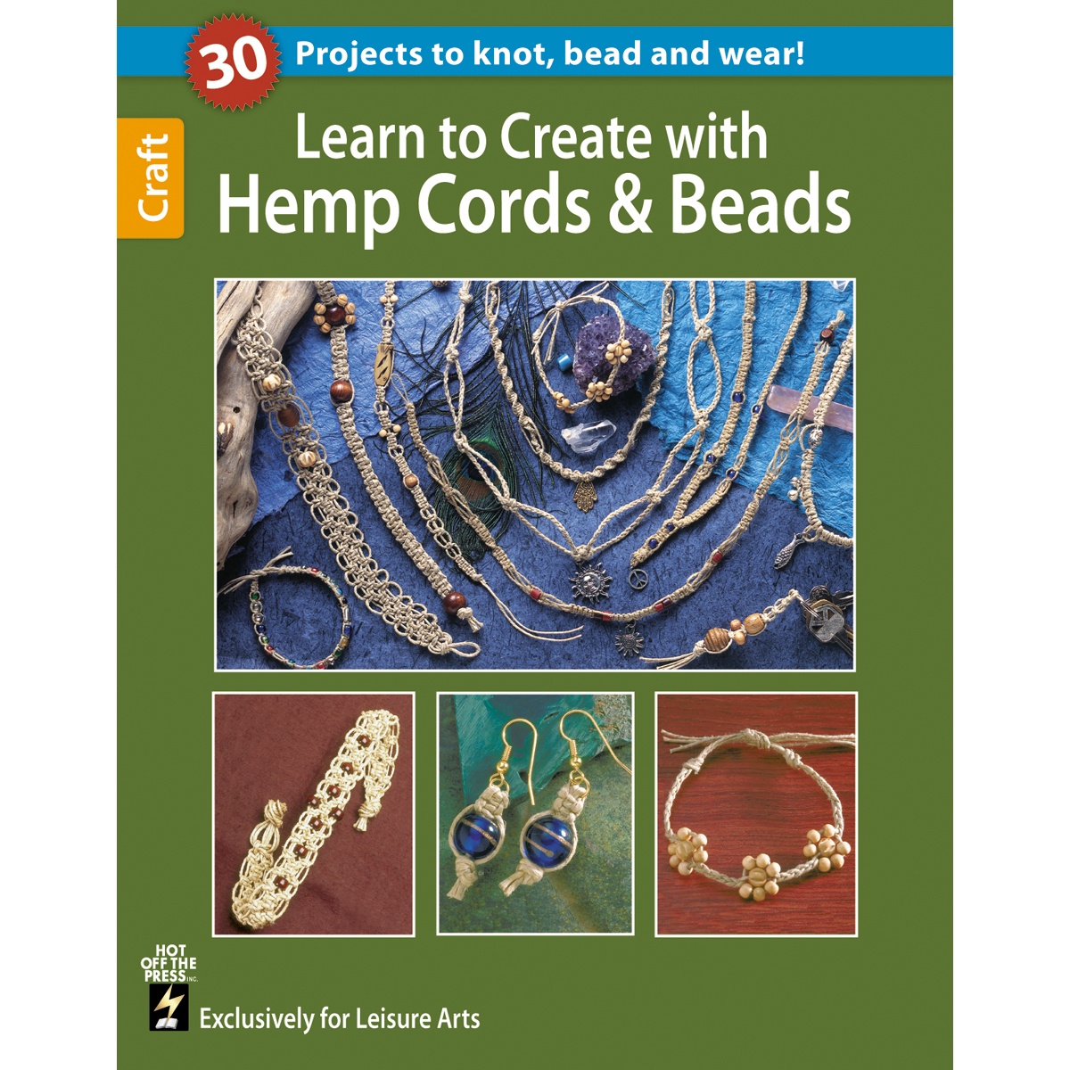 Learn To Create With Hemp Cord And Beads